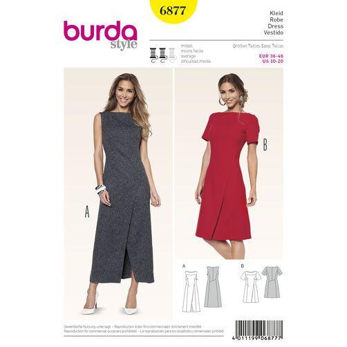 Burda Style Pattern 6877 Dresses