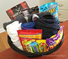 41 best easter baskets for kids images on pinterest easter easter basket for husband google search negle Images