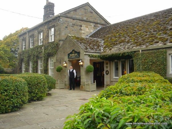 Devonshire Arms Country House Hotel & Spa in Skipton, England; http://travelswithcarole.blogspot.com/2015/04/great-sleeps-devonshire-arms-country.html