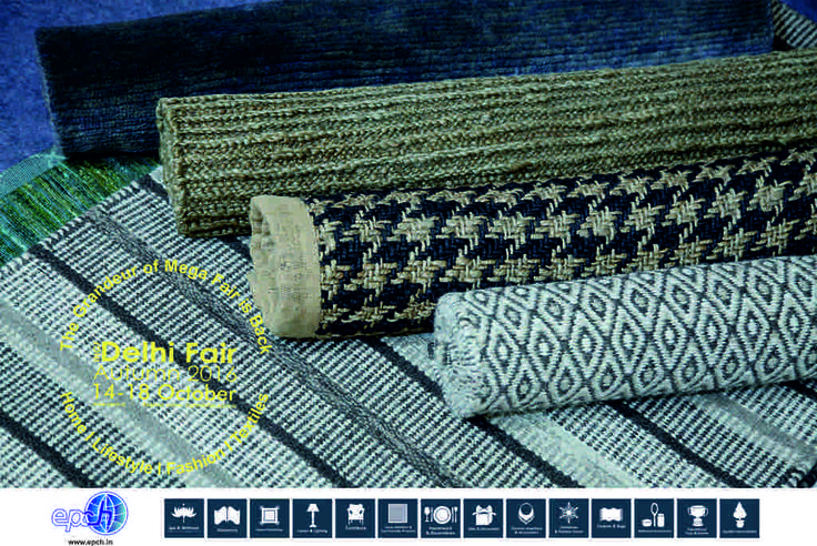 Motley of floor flourishes to suit any clime….compliment any space….source these and more from rugs & flooring at IHGF Delhi Fair Autumn, 2016 #rugs #flooring #homedecor #tradeshow
