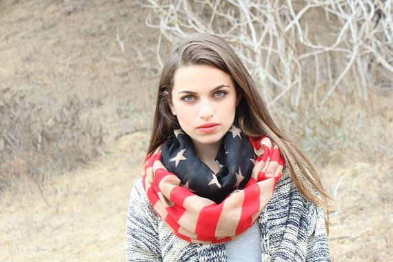 Hey, I found this really awesome Etsy listing at http://www.etsy.com/listing/163332714/american-flag-print-infinity-scarf-great