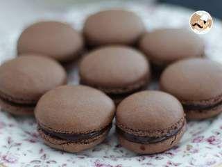 Macarons au chocolat, recette et conseils