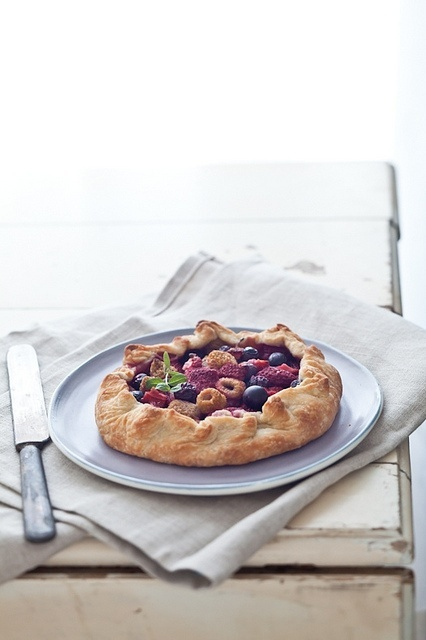 Mixed Berries Galettes. no recipe; just like the idea.