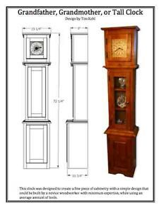 Grandmother clock plans woodworking projects plans - Grandfather clock blueprints ...