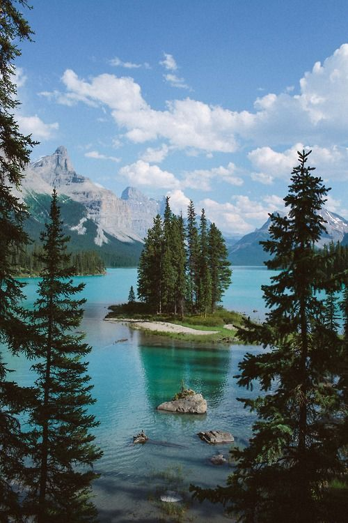 Spirit Island ~ Alberta, Canada