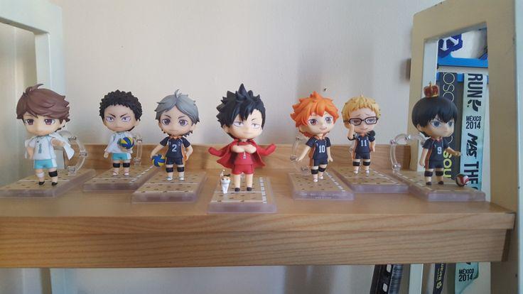 The ones I have so far #Haikyuu #Nendoroid