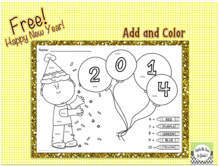 Free add and color! ENJOY!   December/January Teaching ideas   Pinter ...