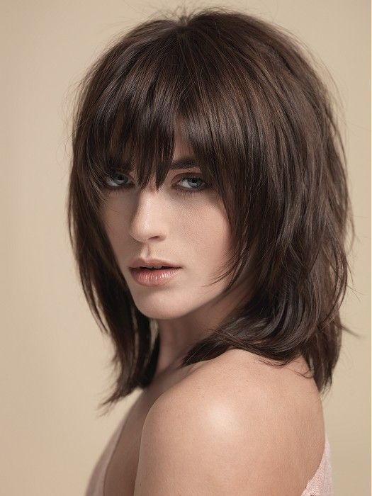 Andrew Collinge Long Brown Hairstyles