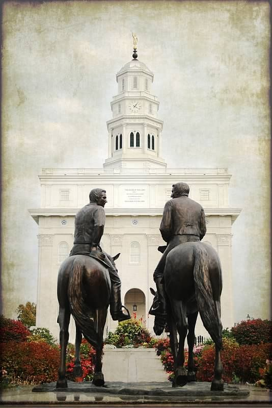 Joseph smith, The prophet and Statue of on Pinterest