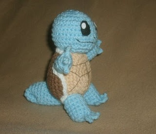 Squirtle free crochet pattern. For Ariana.