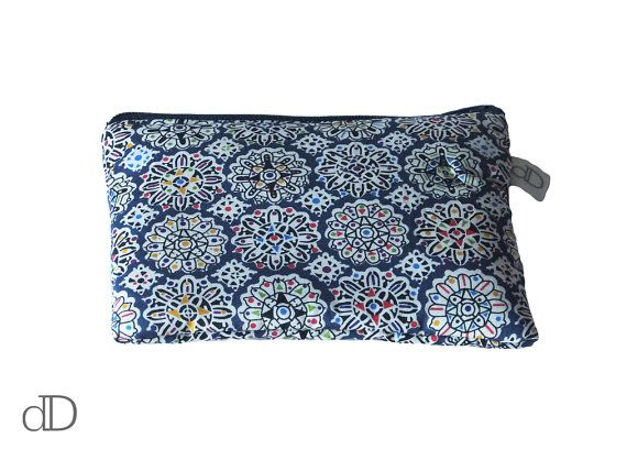 Make Up Bag / Cosmetic Bag /  Purse in Helen's Party Liberty print