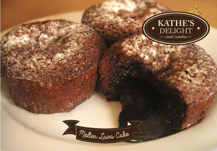 Choco molten lava cake