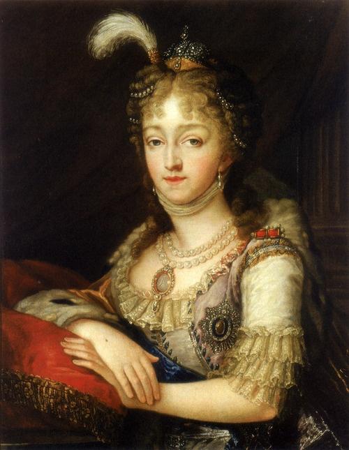 Elizabeth Alexeievna (1779 – 1826), born Princess Louise Maria Auguste of Baden.