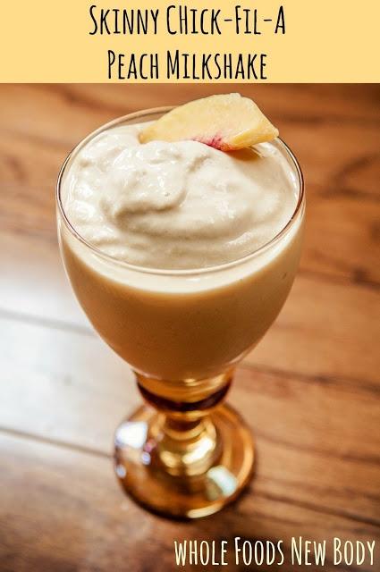 Skinny Peach Milkshake