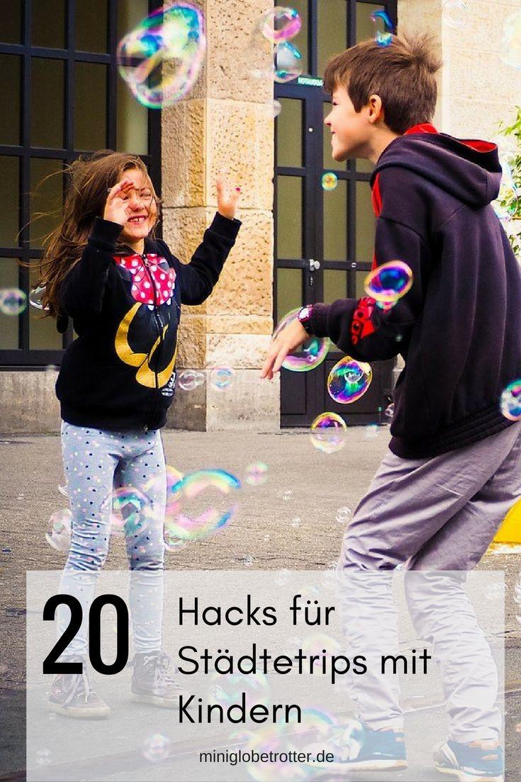 20 Hacks für Städtetrips mit Kindern - Reisetipps für Familien (scheduled via http://www.tailwindapp.com?utm_source=pinterest&utm_medium=twpin)