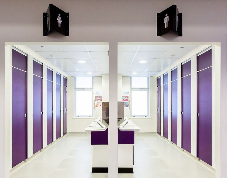 Amwell's Splash range specified in Solid Grade Laminate at May Park Primary School