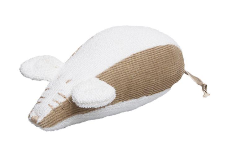 soft toy / knuffel (met rammeltje) Mouse  #soft toy #baby #nursery #knuffel #rammelaar #kids #fairtrade #handmade #handcraft #beige #corduroy #muis  shop:www.fabsstore.com (ship worldwide)
