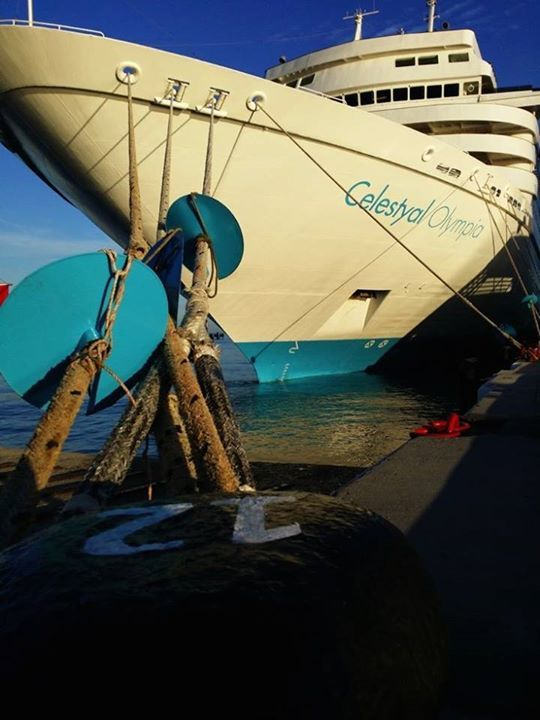 Celestyal Olympia is ready to sail from the port of Kusadasi and offer you a whole new travel adventure! Photo Credits: Maryhop #Celestyalcruises #CelestyalOlympia #Cruise #travel #ship #travelphotography #traveltheworld