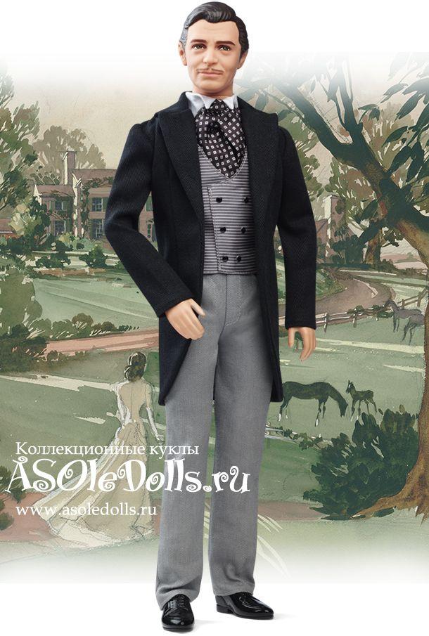 Коллекционная кукла КЕН РЕТТ БАТЛЕР 75-й юбилей фильма http://www.asoledolls.ru/product_1361.html  Рост: 30 см  Стоимость: 4090=