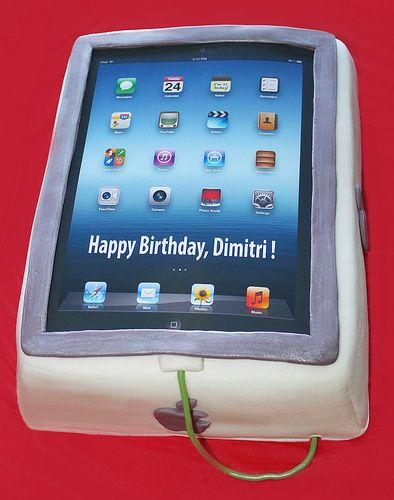 Ipad Cake Cakes For Men Pinterest