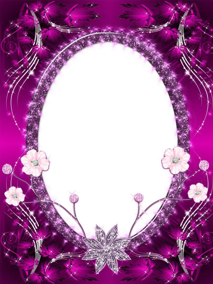 beautiful pink transparent png photo frame
