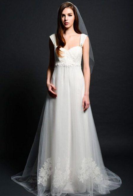 Eden Bridals Empire Silhouette Bridal Gown