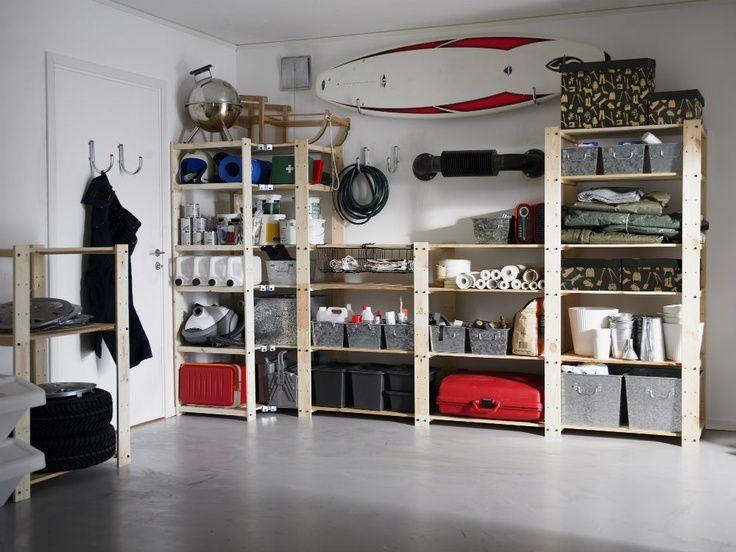 1000 ideas about ikea garage on pinterest meuble casier ikea casiers de g - Rangement garage ikea ...