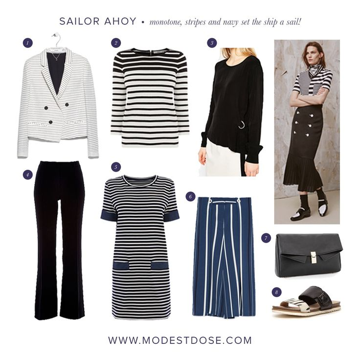 Nautical looks you can carry over into summer 2016! Sailor looks are set to be a key trend next summer so we have selected our picks from the current sales. Items you can wear for seasons!