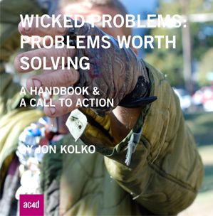 """According to Kolko, there are 4 reasons that """"wicked problems"""" can't be solved; """"incomplete or contradictory knowledge, # of people and opinion, large economic burden and the interconnectedness of problems."""" The example that he uses is poverty. He goes on to talk about the 10 characteristics of solving social issues that include the fact that there is no template to solve these issues and one problem creates or affects another! #IL_#problemsolving_#PPD500_07_dianmjharrison"""