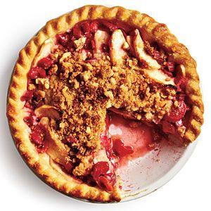 Rhubarb-Apple Pie   MyRecipes.com