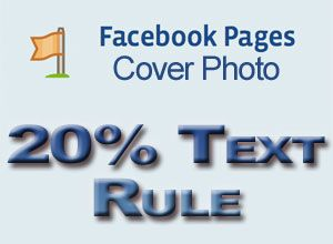 Facebook Cover Photo Rule For Text    Facebook Pages 20% cover photo rule ~ Facebook has revised the company's Facebook Pages Terms from December 17, 2012.