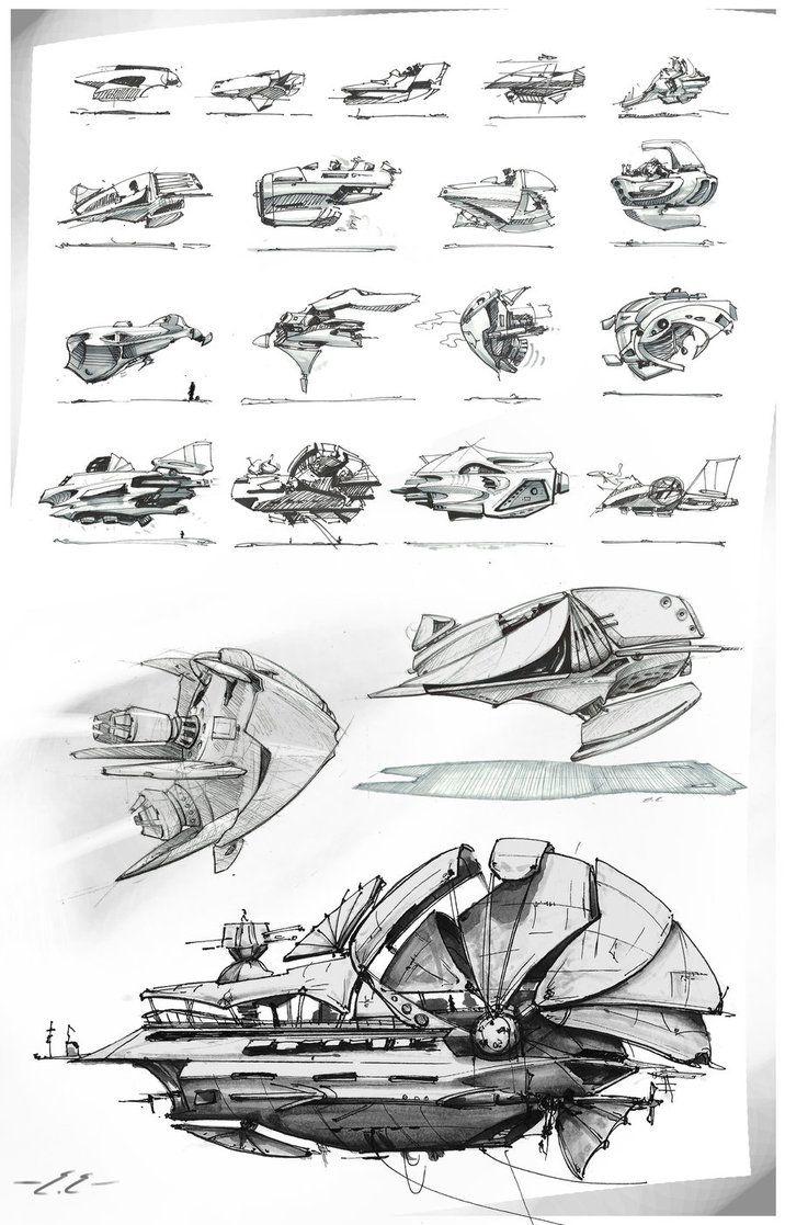 Fun Air ships by emevans4 on deviantART