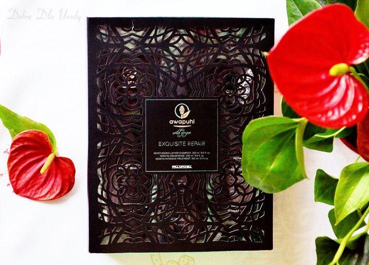 Najnowsza propozycja marki Paul Mitchell - luksusowa seria kosmetyków do włosów uwrażliwionych - Awapuhi Wild Ginger z kompleksem Kera-Triplex. Opakowanie zachwyca! A o działaniu za jakiś czas na blogu...