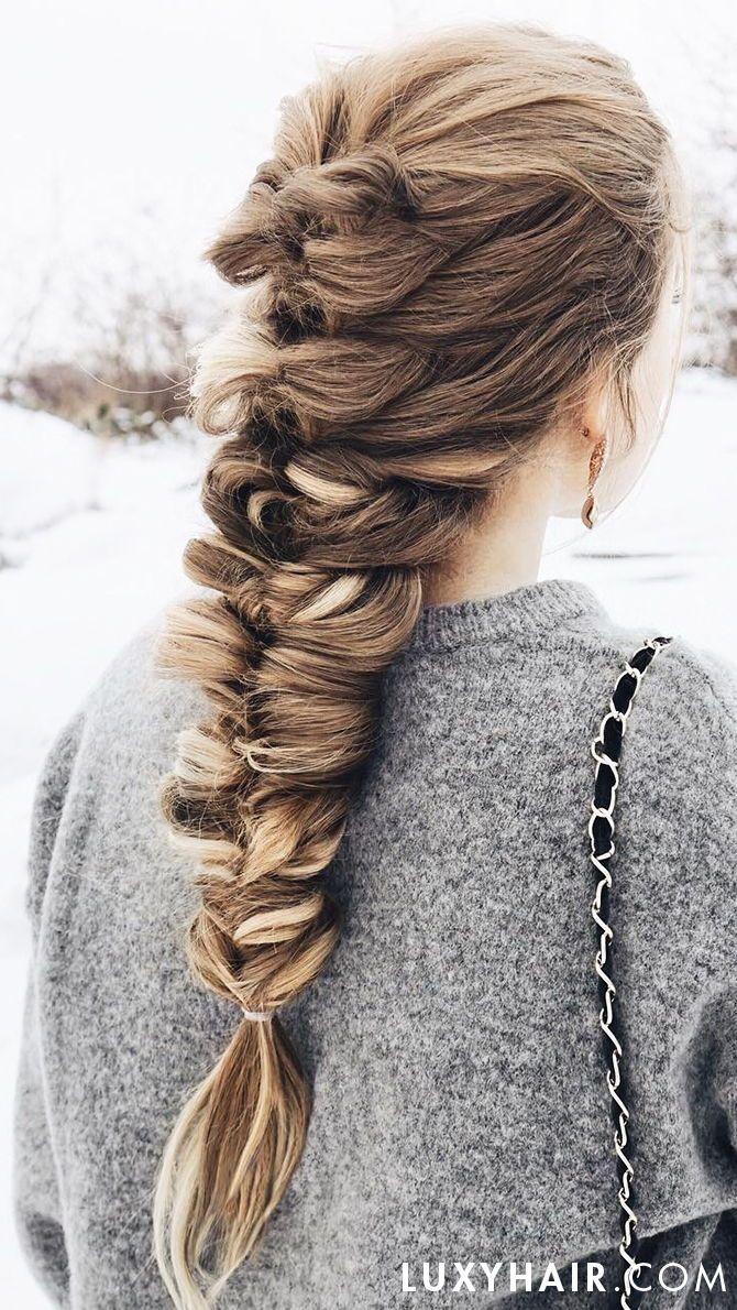 how to: three way fishtail braid hair tutorial   braids