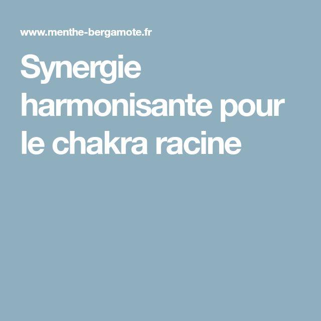 Synergie harmonisante pour le chakra racine