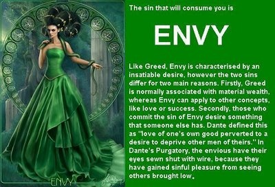 This is the definition of Envy. One of the seven deadly ...
