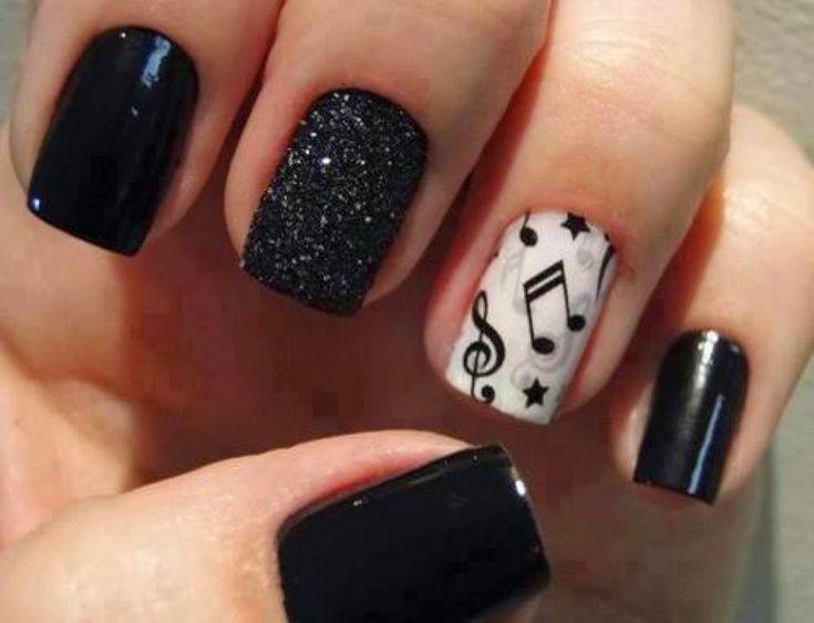 Η Τέχνη στα Νύχια σε Άσπρο-Μαύρο! ~ Woman Meeting Point   Μόδα, Μαλλιά, Μακιγιάζ, Ομορφιά