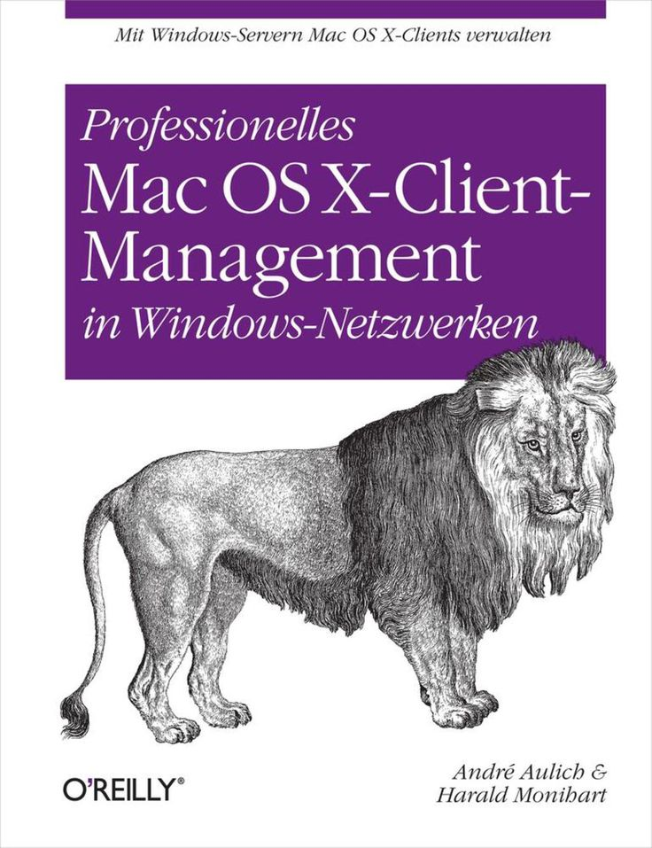 Professionelles Mac OS X Client-Management in Windows-Netzwerken (eBook)