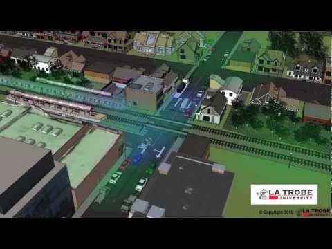 Intelligent Transport System to improve safety of railway crossings