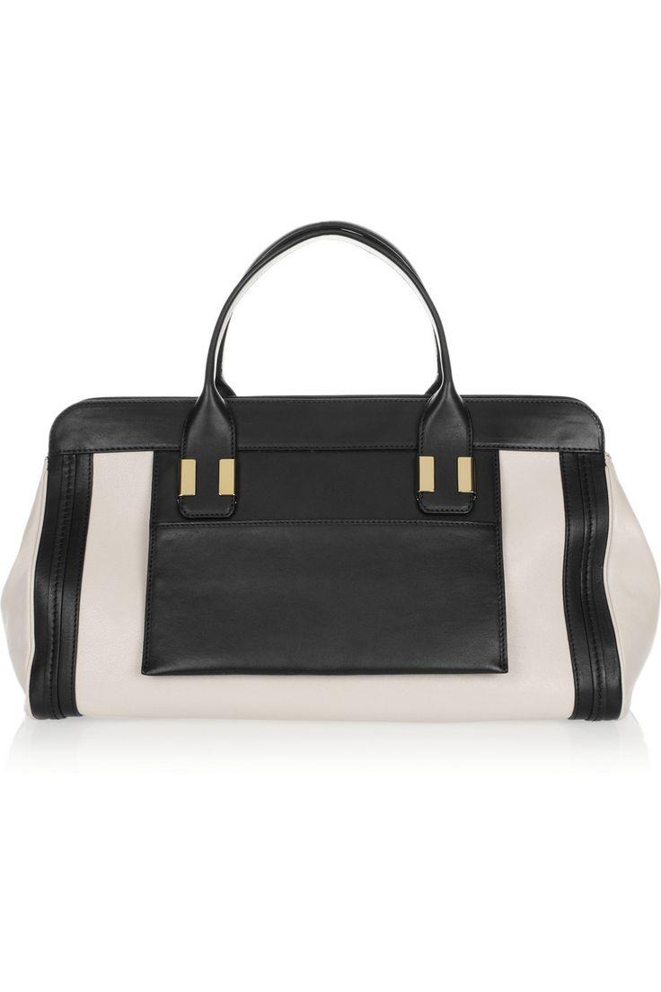 Chloé|The Alice leather tote|NET-A-PORTER.COM