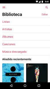 Apple Music: miniatura de captura de pantalla