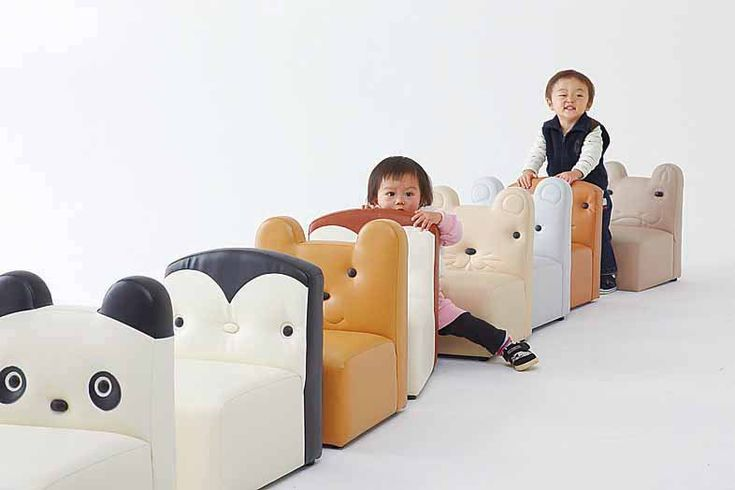 Childrens sofa BEAR safty made in Japan $140  Oh my yes!!!