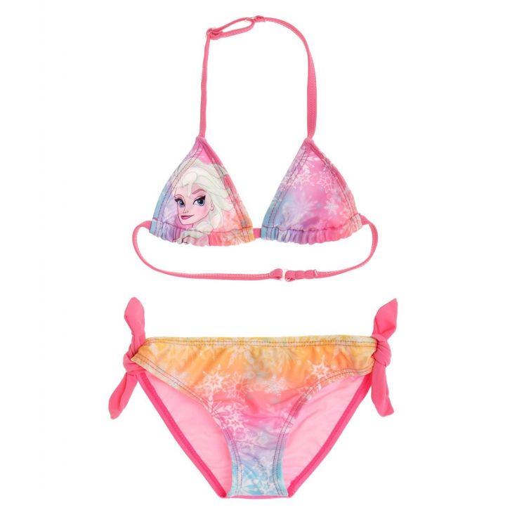 Costum de baie bikini Disney Frozen roz