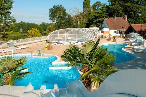 Découvrez au cœur d'un cadre verdoyant le camping Le Parc des Allais ! Offrez-vous des vacances relaxantes...  Plus d'infos : https://www.tohapi.fr/centre/camping-parc-des-allais.php #tohapi #vacances #camping #trogues #centre #parcdesallais #indreetloire  #piscine