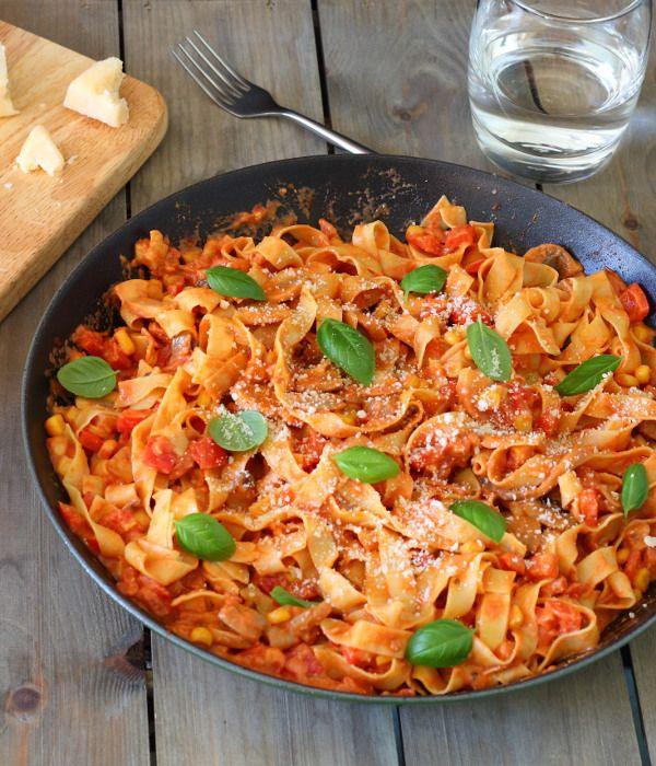 Chorizo spicy pasta recipes