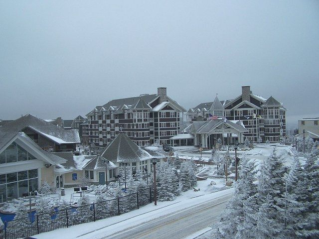 Snowshoe, WV = Probably our favorite drivable ski destination: ski-in/ski-out, convenient, friendly, relaxing village...