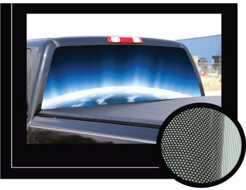 Best Truck Images On Pinterest Rear Window Truck And Window - Chevy rear window decals trucksharleydavidson rear window graphic decal lightning