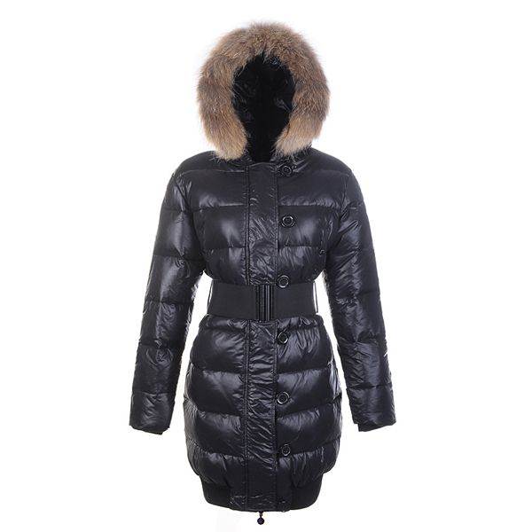 Moncler Lucie Pop Star Long Down Coats Black http://www.luxurydressessale.