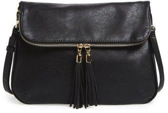 Bp. Foldover Crossbody Bag - Black