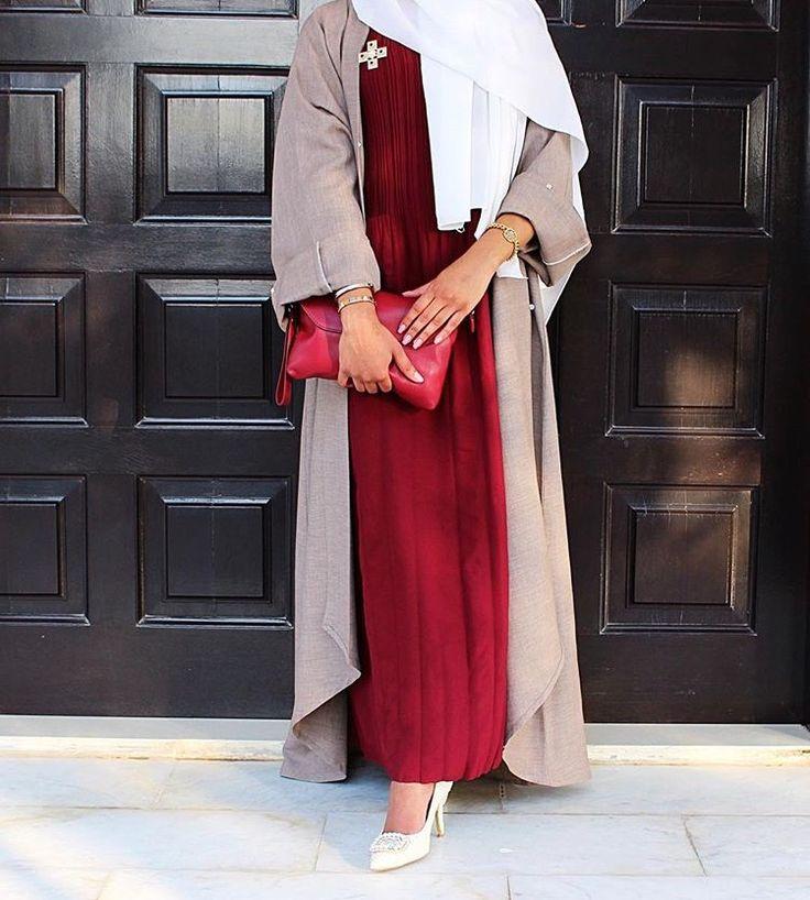 Hijab Fashion | Nuriyah O. Martinez | IG: Elegant_Moka || IG: BeautiifulinBlack || Abaya Fashion ||